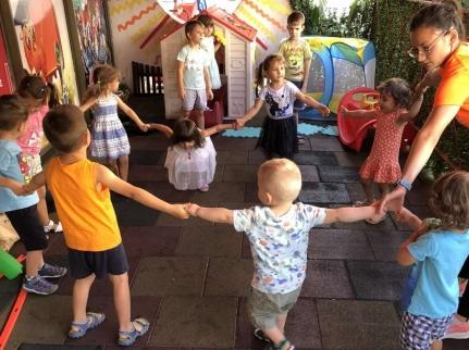 Спортни игри – Детски градини